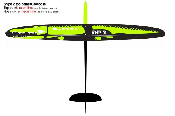 SNIPE Crocodile Design6