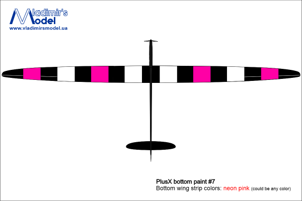 plus x bottom paint 07 neon pink